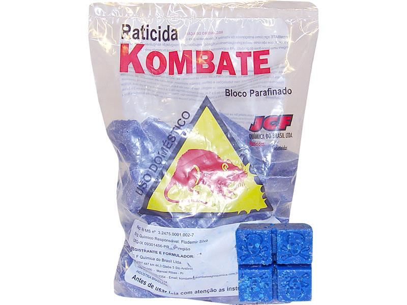 M. RATO KOMBATE BLOCO PARAF. 1 KG CX C/06 UNID.