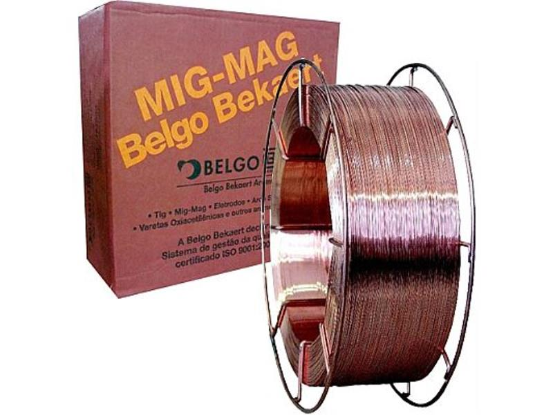 ARAME MIG BELGO 0,80 15 KG