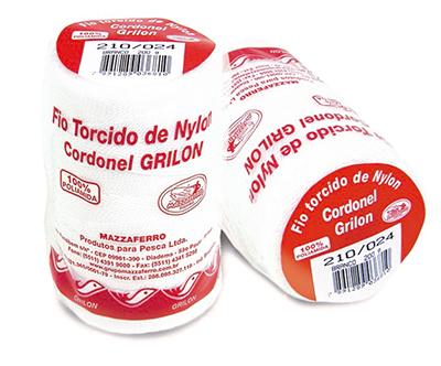 FIO TORCIDO NYLON 210/009 200 g BCO