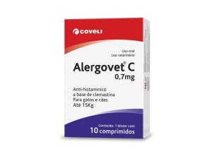 """Alergovet """"C"""" 0,7mg 10 comprimidos"""
