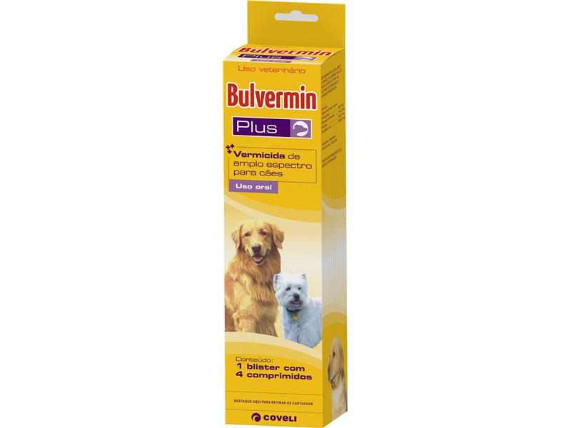 BULVERMIN PLUS 30 STRIPS C/4 COMPR