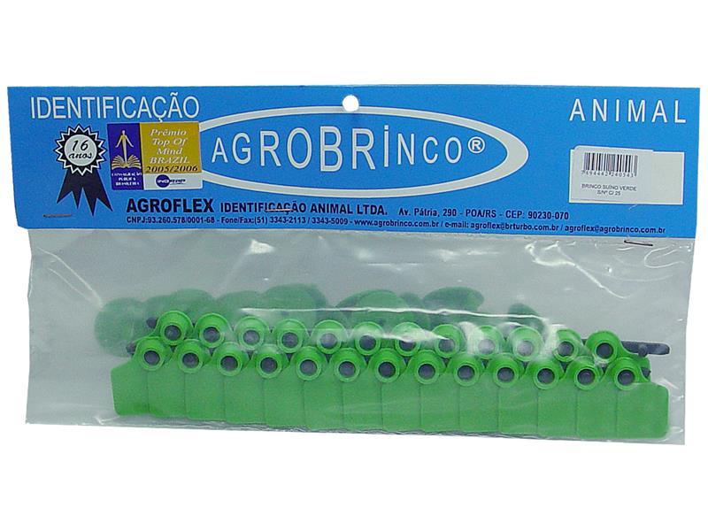 BRINCO SUINO VERDE S/No C/25