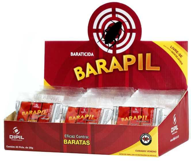 BARATICIDA BARAPIL 6 X 1 Kg (40x25g