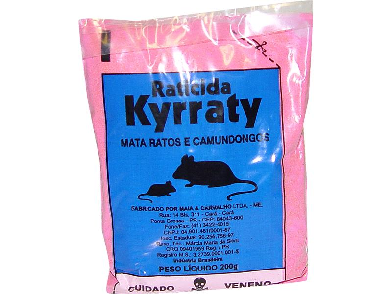M. RATO KYRRATY 100 GR -  CAIXA C/ 30 UNID