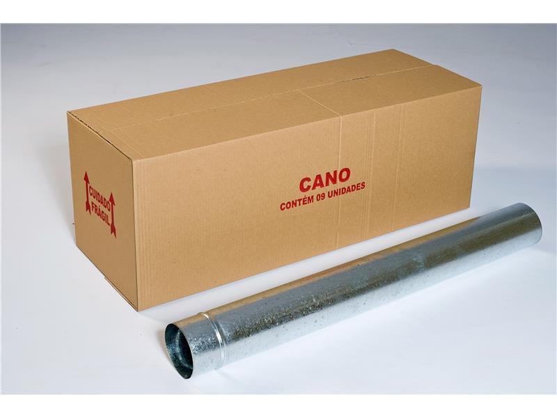 CANO GALV. FOGAO115mm CX C/ 9 UN